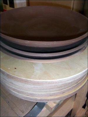 Подсушенные тарелки