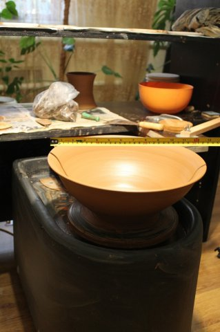 Широкая тарелка на круге Профи-Макс-М