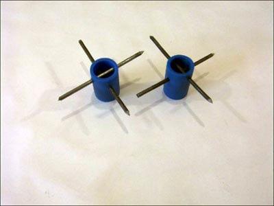 пластиковые закладные с проволочными анкерами