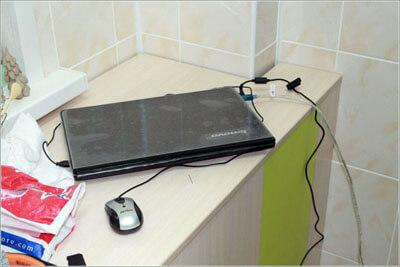 ноутбук для печи обжига