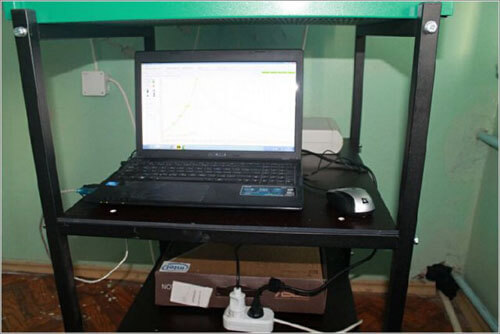 Печь с управлением от компьютера