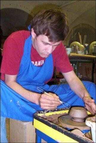 обучение гончарному ремеслу