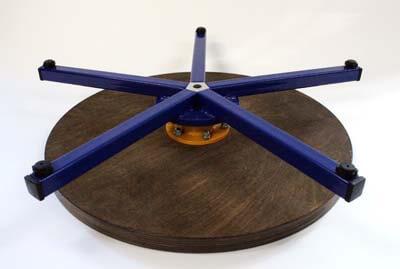 Турнетка для керамики модель BIG вид сверху